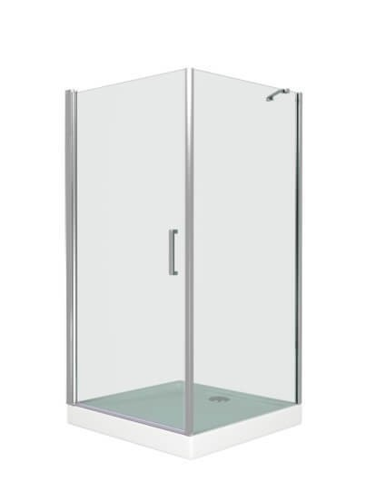 Душевой уголок Good Door Пандора CR, прозрачный, распашная дверь