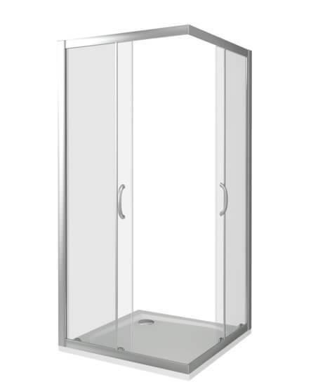 Душевой уголок Good Door INFINITY CR-80-C-CH раздвижные двери