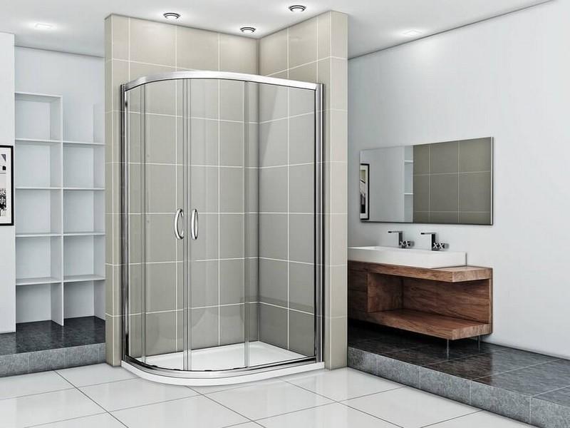 Душевой уголок Good Door INFINITY R-120х80-C-CH прозрачный, без поддона