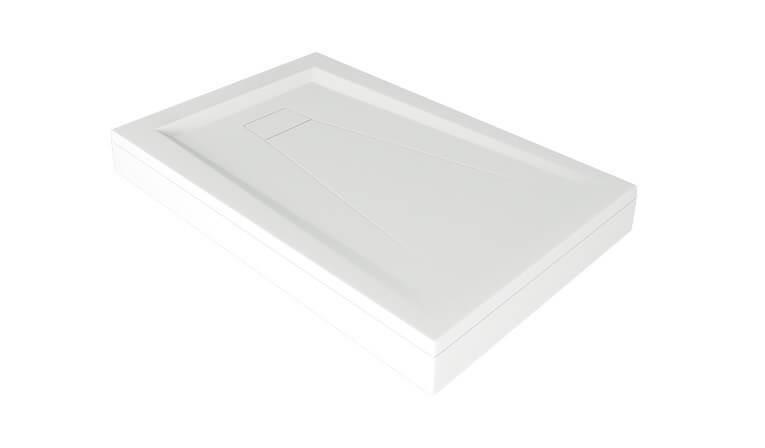 Поддон из литьевого мрамора Good Door Атриум прямоугольный 110х80