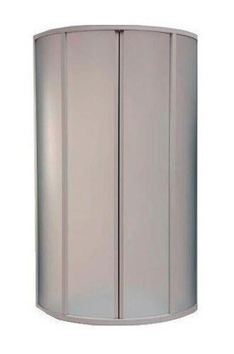 Душевое ограждение BAS Плуто 80х80, матовые стекла, без поддона