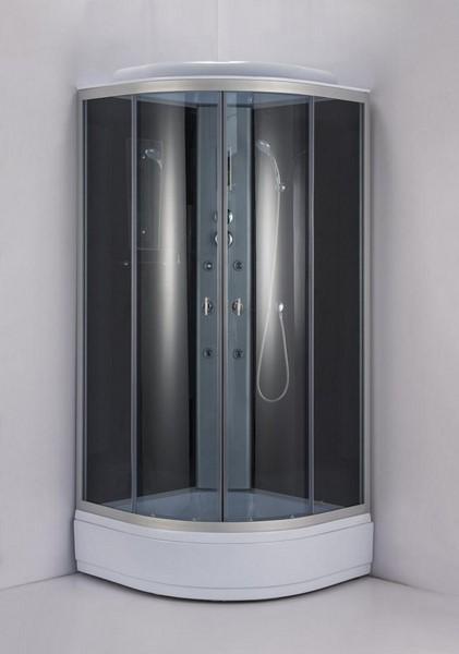Душевая кабина Niagara NG-3517-14 90х90 см с тонированными стеклами