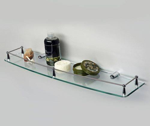 Полка в ванную WasserKRAFT K-555 стеклянная