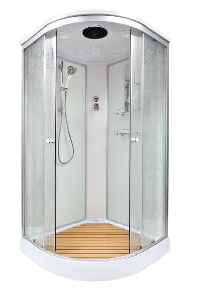 Душевая кабина DETO ЕМ1510 100х100 см