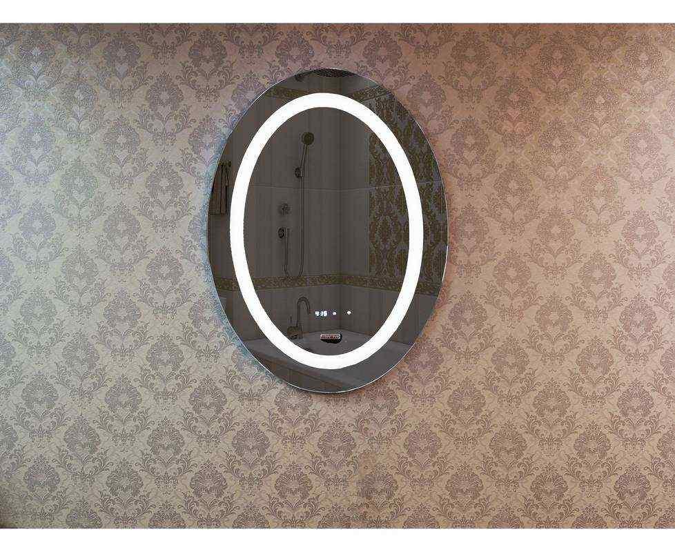 Зеркало Deto O 107 110x70 см