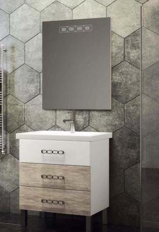 Мебель Опадирис Боско 70 цвет: белый/орегано (МДФ)