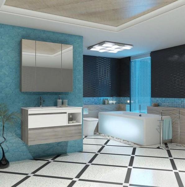 Мебель Опадирис Фортуна 90 цвет: белый/орегон (МДФ)