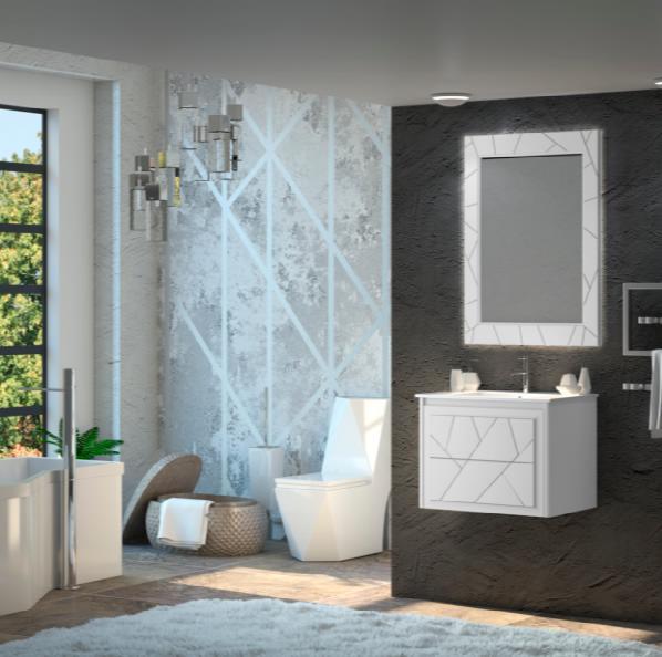 Мебель Опадирис Луиджи 70 цвет: белый матовый (МДФ)