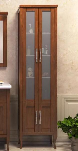Пенал для ванной Opadiris Мираж 50 светлый орех (Массив бука)