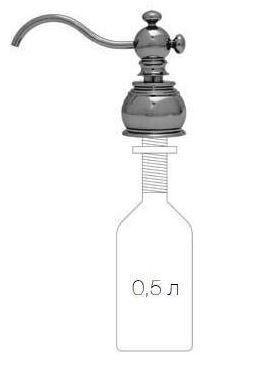 Дозатор для жидкого мыла Migliore Cucina Plus ML.COM-50.110