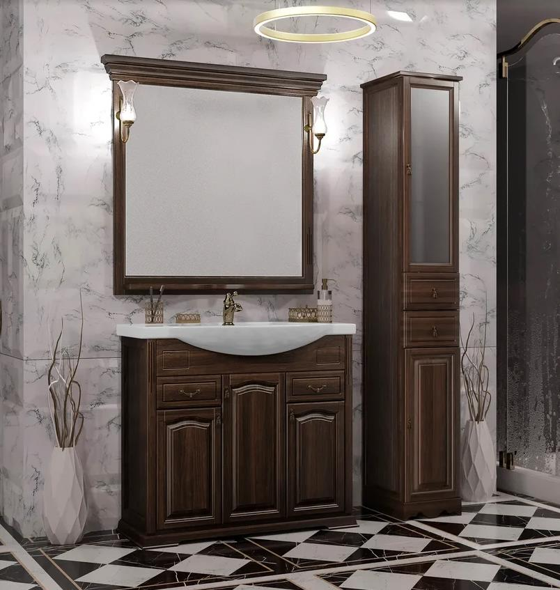 Мебель Опадирис РИСПЕКТО 95 цвет: орех антикварный (Массив бука)