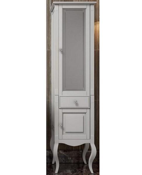 Пенал Опадирис ЛАУРА 45 цвет: белый матовый (Массив бука)