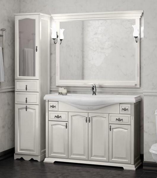 Мебель Opadiris РИСПЕКТО 120 Цвет: Белый 9003 (Массив бука)