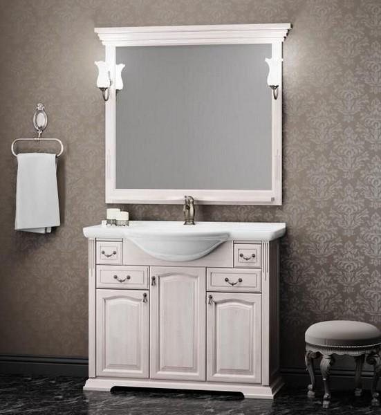 Мебель Opadiris РИСПЕКТО 105 белый (Массив бука)