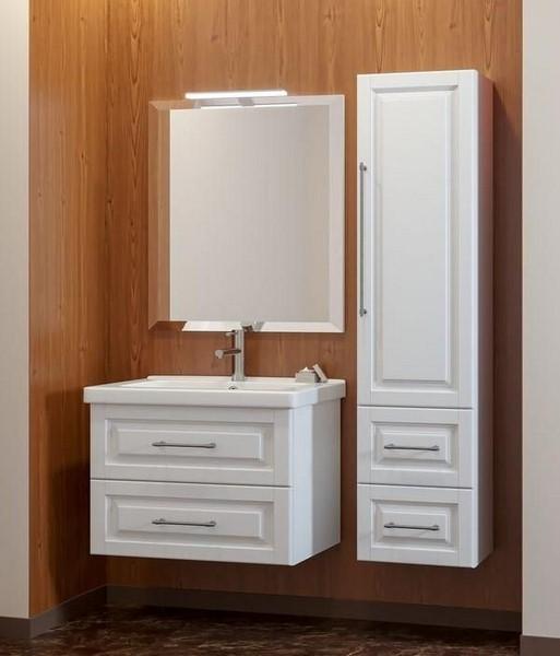 Мебель Опадирис Сити 80 цвет: белый матовый (МДФ)