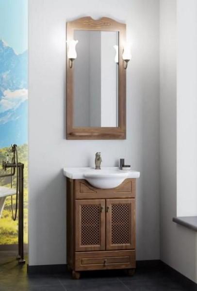 Мебель Opadiris ТИБЕТ 50 с решеткой Цвет нагал (Массив бука)