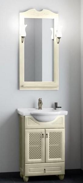 Мебель Opadiris ТИБЕТ 50 с решеткой Цвет: Слоновая кость (Массив бука)